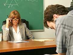 Darla Crane & James Deen as Sexy Teacher