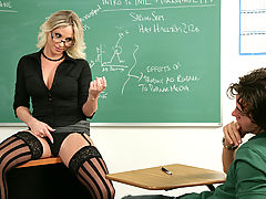 Brittanie Lane & Seth Gamble as Sexy Teacher